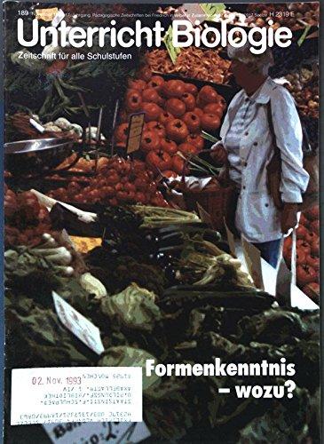 Hagebuttentee und Hermelinmantel, in: UNTERRICHT BIOLOGIE, November 1993.