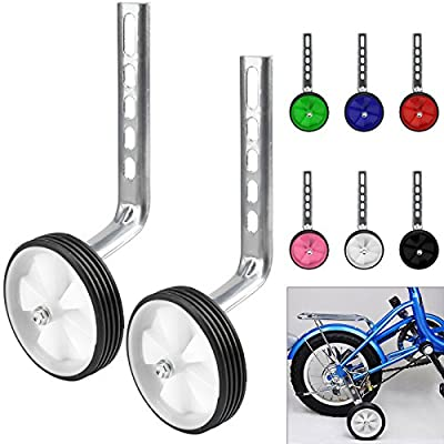 "MultiWare Bicycle Stabilisers Training Wheels For Kids Bike 12-20"" by OEM"