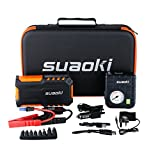 Best Jump Starters - Suaoki G7 Car Jump Starter Battery 600A 18000mAh Review