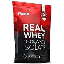 Prozis 100% Real Whey Isolate Protein - Proteína sin Sabor para Pérdida de Peso,
