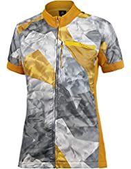 adidas–Camiseta de mujer Outdoor Terrex woolblaze, mujer, Shirt Outdoor Terrex Woolblaze, Gelb/Braun/Gold, 34