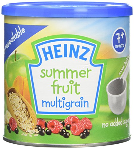 Heinz Baby Tub and Scoop Summer Fruit Multigrain Cereal, 7 months +, 240 g