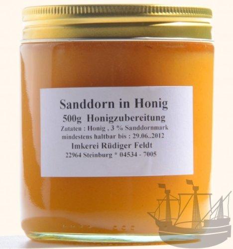 Sanddorn Honig, Norddeutsche Spezialität, 500g