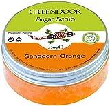 Greendoor Azúcar Scrub Espino amarillo Naranja