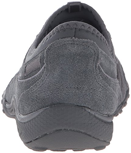 Skechers USA  Breathe-Easy - Relaxation, Baskets basses femme Charcoal Suede