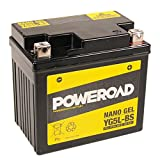 Wartungsfreie 12V Gel Batterie - 5Ah- YG5L-BS - YTX5L-BS - inkl. Pfand für Aprilia - RS, RS4, SR Ditech, Scarabeo Ditech, Scarabeo - 50cc, 100cc