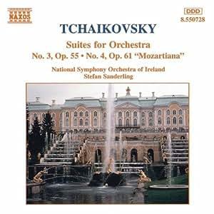 Tschaikowsky: Orchester Suiten 3 und 4 Sand