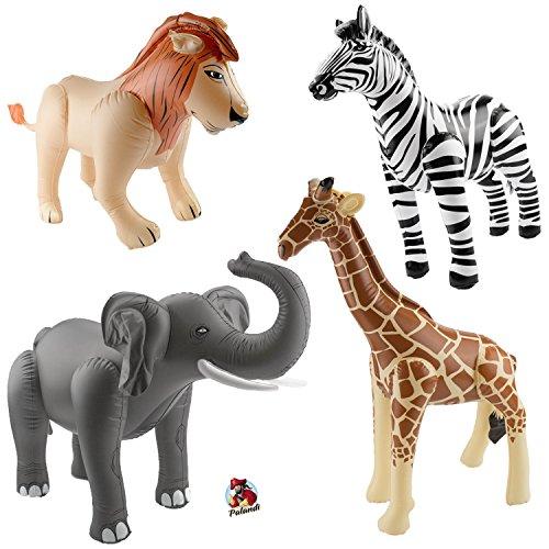 Tiere lebensgroß 210 cm Deko Kinder Spielzeug Aufblasbarer Elefant XXL