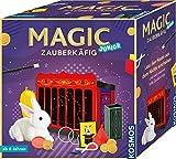 Magic Zauberkäfig Lass den Hasen aus dem Nichts erscheinen und viele weitere tolle Zaubertricks Zauberkasten, für Kinder ab 6 Jahre