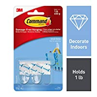 Command 17093CLR Hook with Strips - Clear