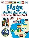 Ultimate Sticker Book: Flags Around the World (Ultimate Sticker Books)