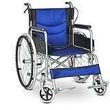 T-Day Rollstühle Rollstühle, Leichte Zusammenklappbare Selbstfahrende Rollstuhl, Aluminium Rollstuhl, Abnehmbare Fußstützen (Farbe : C)