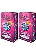Skins lunares y rayas Condones-Pack de 12(Retail Caja Sellada unidades)