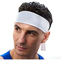 Red Dust Active Stirnband/Schweißband für Männer Ideale Sport-Stirnband für Tennis, Laufen, Crossfit, Fitnessstudio und Andere Sportarten – Atmungsaktiv und Feuchtigkeitsableitend