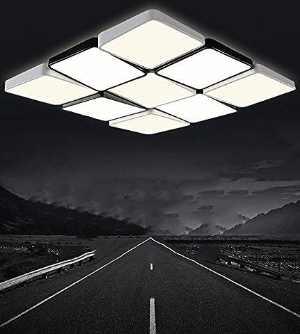 FYN® Ceiling Light-Lattice Lamp-Square Light-Simple-Modern Bedroom Light-Room Lights-Lobby LED Lights