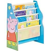 Preisvergleich für Peppa Pig - Hängefach-Bücherregal für Kinder – Büchergestell für Das Kinderzimmer