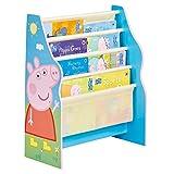 Peppa Pig - Hängefach-Bücherregal für Kinder – Büchergestell für Das Kinderzimmer