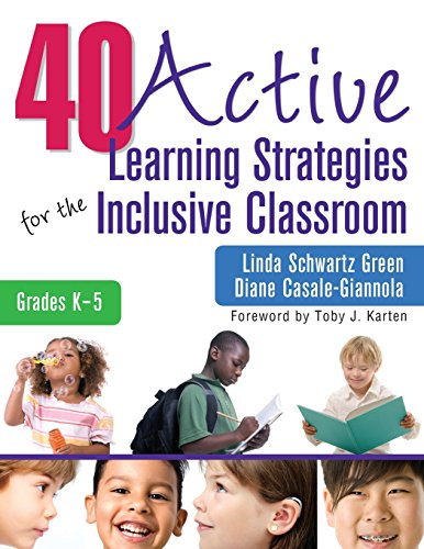 40 Active Learning Strategies for the Inclusive Classroom, Grades K-5 (NULL)