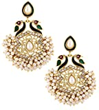 The jewelbox peacock meenakari pearl gol...