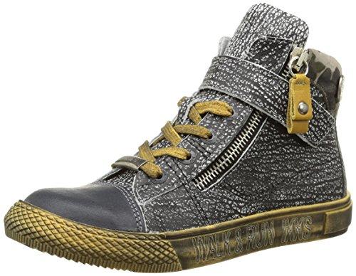 Ikks - Anthony, Sneakers per bambini e ragazzi, grigio (nuc gris/noir dpf/tavolo), 30