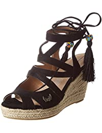 Amazon.fr   Compensees - Sandales   Chaussures femme   Chaussures et ... 976fe73beef