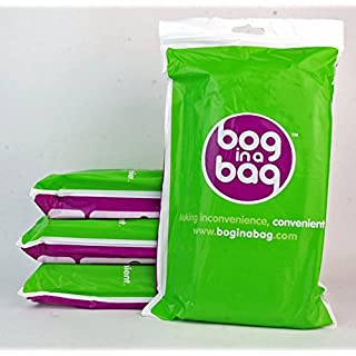 Genuine Boginabag Bog in a Bag Refill Pack (5 Bags per Pack) - Suitable for Camping, Festivals, Fishing & Travelling (Four Pack)