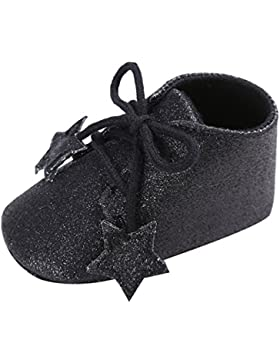 EOZY Babyschuhe Mädchen Glitzer Lauflernschuhe Festliche Schuhe Taufschuhe