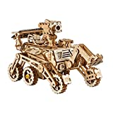 ROKR Energia Solare Giocattolo Set-STEM Toys-Kit di Puzzle in Legno 3D-Kit di Costruzione Modello Meccanico per Adolescenti e Adulti (Curiosity Rover)