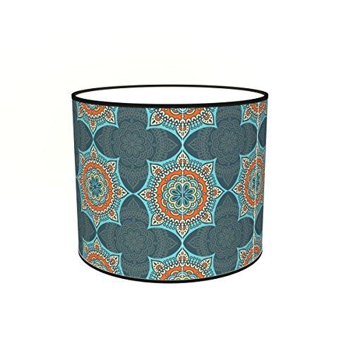 Abat-jours 7111308055999 Imprimé Casa Lampadaire, Tissus/PVC, Multicolore