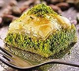 Pistazien Baklava Palandöken täglich frischer Süsichkeiten Hausgemachtes Rezept (200 GR)