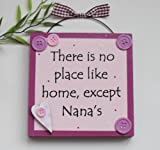 Best Nanas - Nana Wooden Gift Plaque Pink Review
