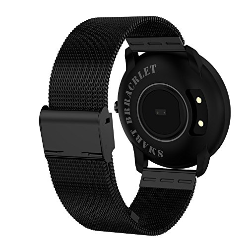 51Z1qX9rsYL. SS500  - Jersh Electronic Smart Watch,High Quality Color Screen Fine Steel Strap Multifunction Smart Bracelet Fitness Tracker Unisex Activity Tracker Temperament Smart Watch