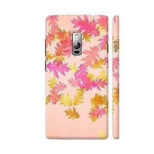 Colorpur Feminine Luxury Autumn Fall Gold Leaves 4 Artwork On OnePlus 2 Cover (Designer Mobile Back Case)   Artist: UtART