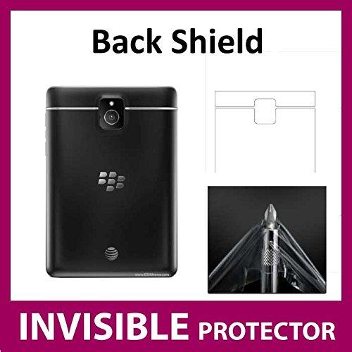 Blackberry Passport unsichtbar Rückseite Displayschutzfolie Folie Fall (zurück Shield im lieferumfang enthalten) Military Grade Schutz Exklusive Ace Fall (Blackberry Passport-klarer Fall)