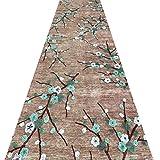 QiangDa Flur Teppich Läufer Langflor Teppiche Lang Super Weicher Komfort Rutschfest Kunststoffkörnchen Einfach Zu Säubern Mehrere Größen Europäischer Stil, Dicke 6 mm (Farbe : 1#, Größe : 1m x 3m)