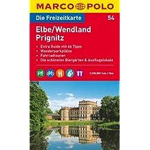 MARCO POLO Freizeitkarte Elbe, Wendland, Prignitz 1:100.000