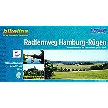 Hamburg - Rügen Radw. durch Mecklenburg - Vorpommern GPS wp Scale: 1/75