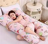 Nome del prodotto: Maternità PillowEd un contenuto di componenti di riempimento: 100% poliestereMateriali e Composizione: velluto cuscino è un cristallo, 100% cotone, il manicotto rivestimento è un tessuto non tessuto medicoDimensioni: 140 * ...