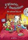 3-Minuten-Geschichten für schöne Träume m. CD