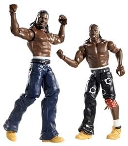 WWE Mattel Catch Figurine x 2 - Series 3 Cryme Tyme