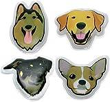 Calentador de manos reutilizables, diseño calentadores Set 4 x Perros