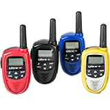 Ultratec Mini Walkie Talkie Set, 4-teilig inkl. Batterien