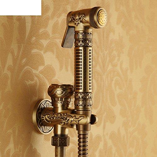 HCP Tout robinet de cuivre toilettes pistolet/bidet/bidet/Flusher-A