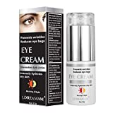 Crema de Ojos,Crema para los Ojos,Contorno de Ojos Anti Edad,Eye Cream,Serum Contorno de Ojos Anti arrugas, Elimina la hinchazón, las ojeras, líneas finas y arrugas