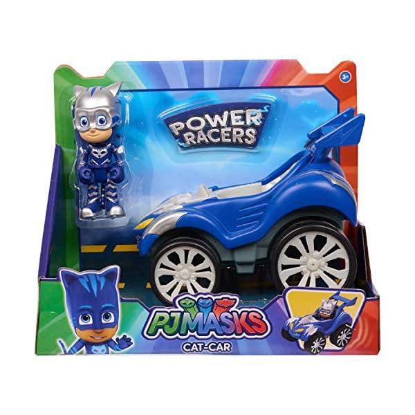 PJ Masks Power Racer Vehicle & Figure - Catboy 1