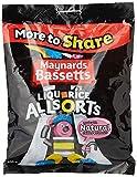 Maynards Bassetts Liquorice Allsorts Sweets Bag, 400 g
