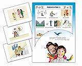 Yo-Yee Flashcards Bildkarten für den Deutschunterricht - Redewendungen 1 zur Sprachförderung im DAZ / DAF Unterricht
