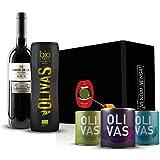 Geschenkset Bio-Olivenöl 5-teilig (mit 2014er - Barón de Ley - Reserva - Rioja)