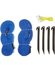 Park & Sun Sports Bande de délimitation terrain Bleu Taille 2,5 cm