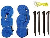 Park & Sun Sport Streifen-Markierung für Sportfelder, Blau Größe 2,5cm